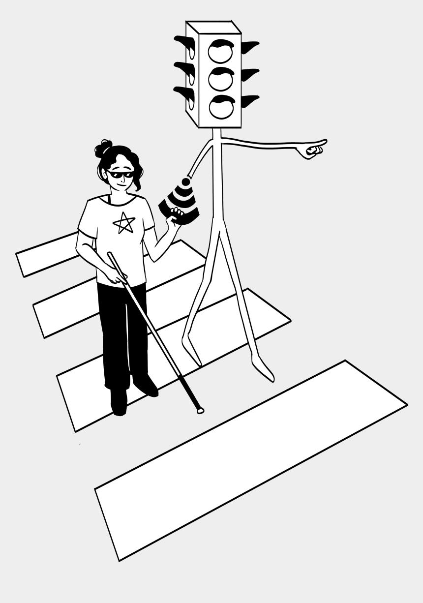 traffic light clipart black and white, Cartoons - Art And Photos - Cartoon