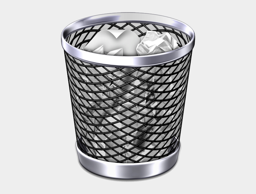 pieces of trash clipart, Cartoons - Our Trash Bin - Transparent Trash Icon Png
