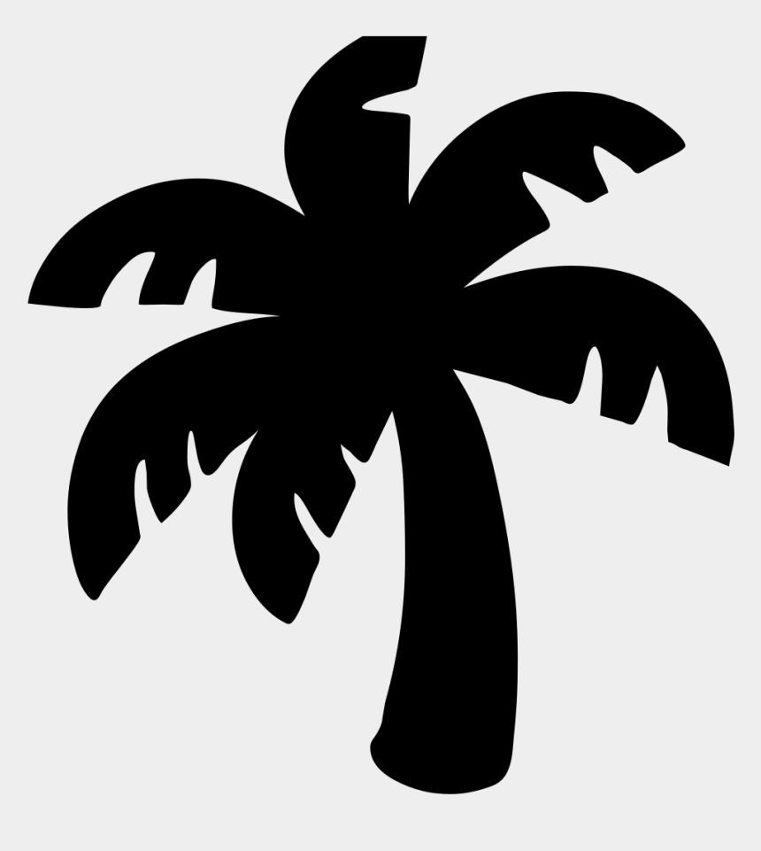 pom pom clipart black and white, Cartoons - Android Emoji 1f334 - Palm Tree Emoji Black And White