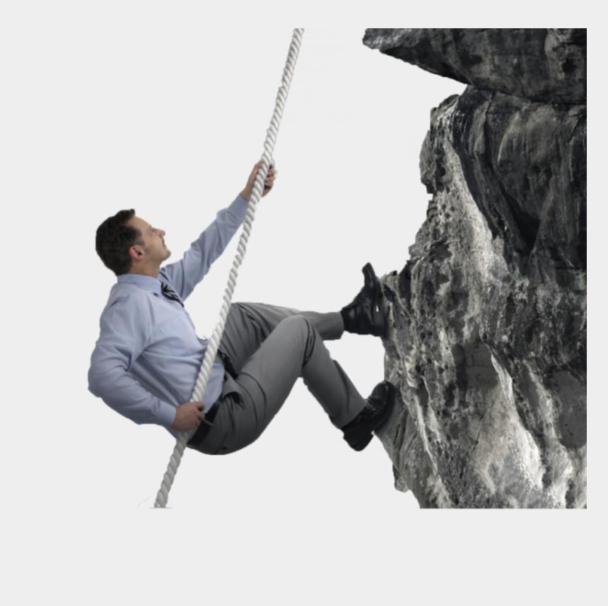 climbing stairs clipart, Cartoons - Man Climbing Vector - Guy Climbing A Mountain