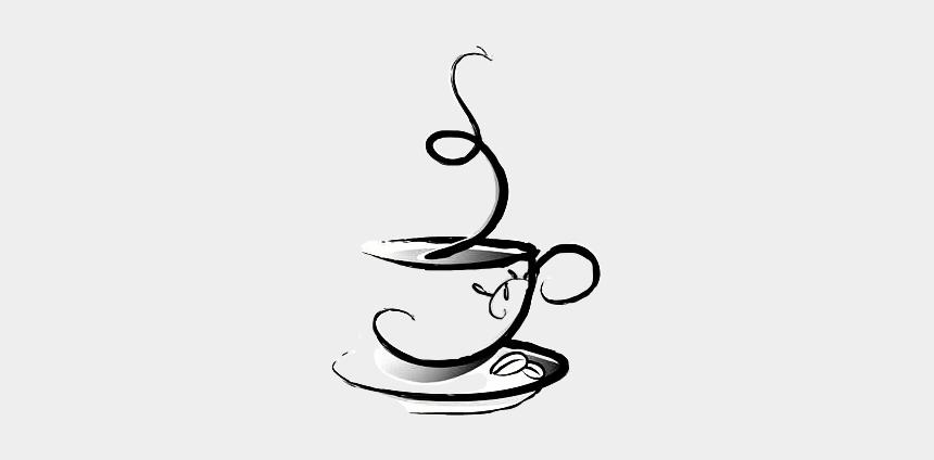 steaming coffee mug clipart, Cartoons - #steam #cup #mug #saucer #art #drawing #blackandwhite - Small Coffee Cup Logo