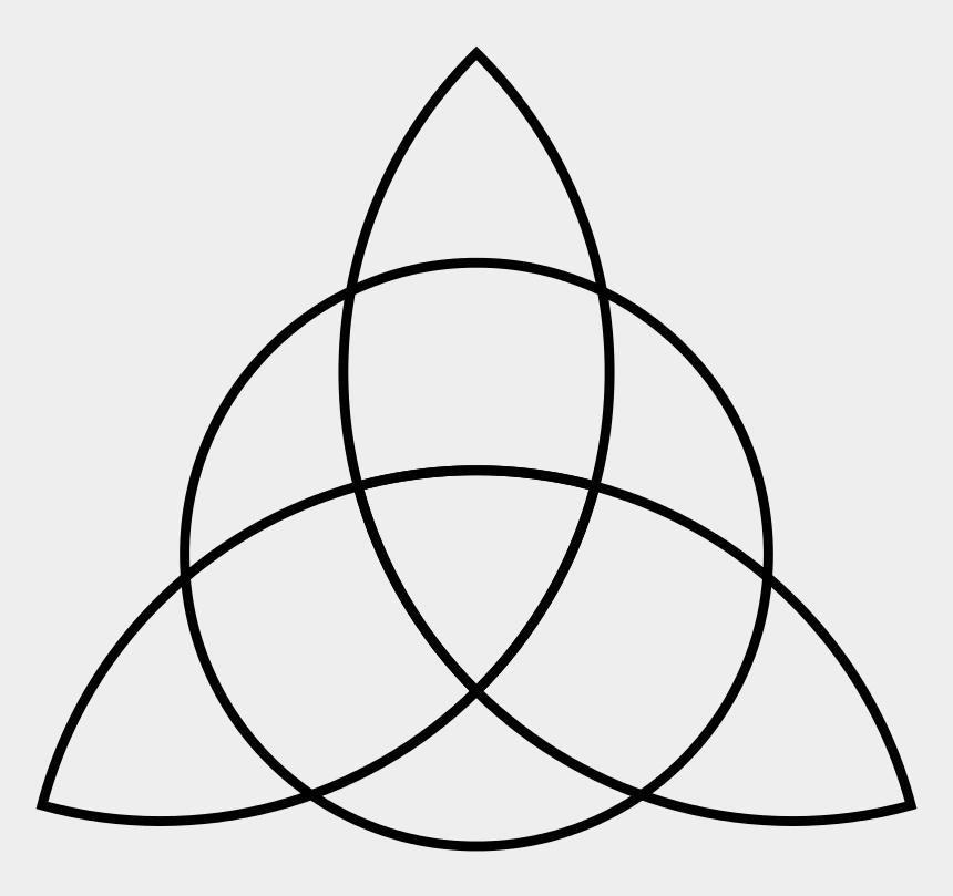 celtic clipart, Cartoons - Celtic Clipart Triquetra - Celtic Knot Single Line