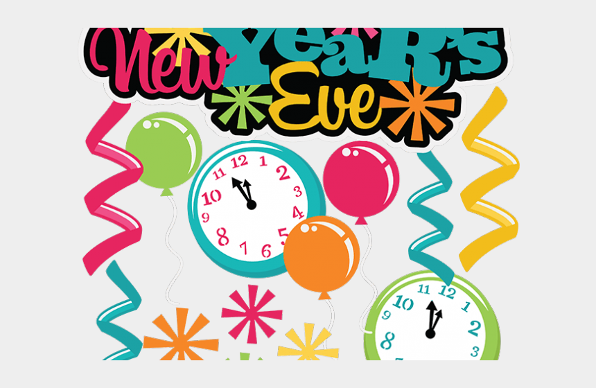 2016 new years clipart, Cartoons - New Year Clipart Artistic - New Year Eve 2019 Clip Art