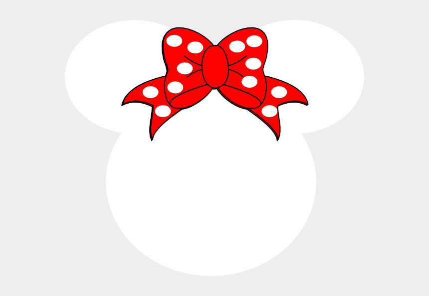 clipart downloading, Cartoons - Clipart Of Bc, Mouse At And Minnie Mouse Had - White Minnie Mouse Head