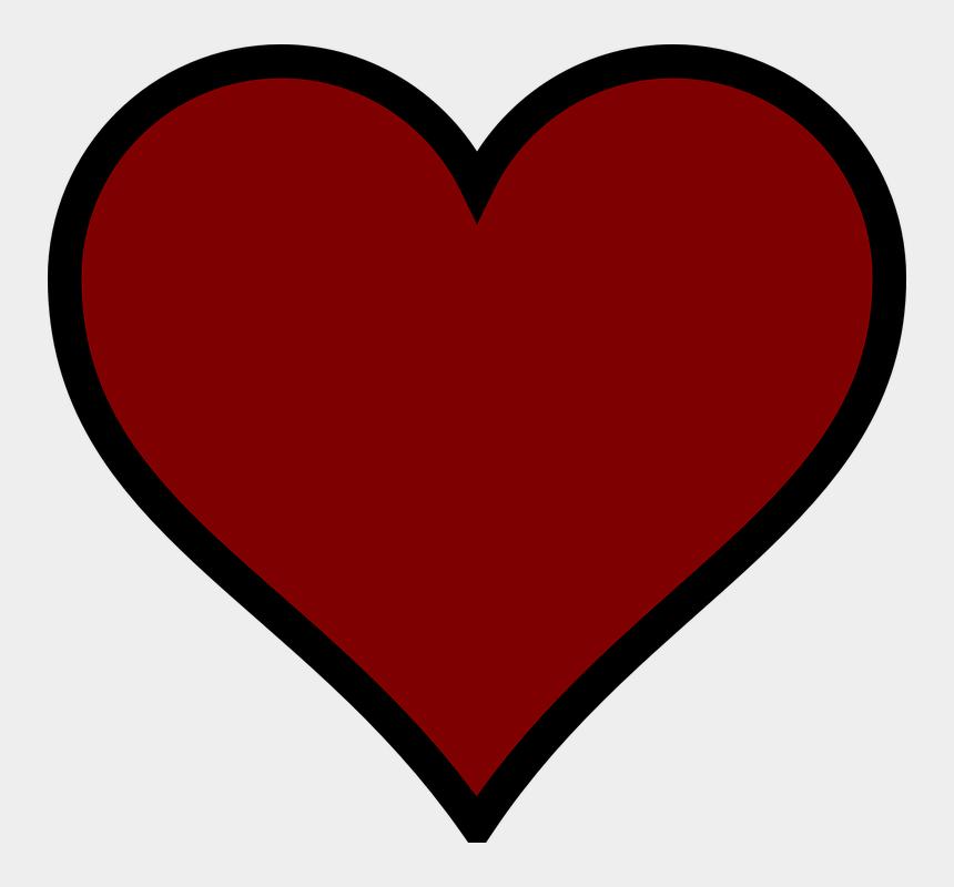 darkness clipart, Cartoons - Red, Heart, Dark - Coração Vermelho Fundo Transparente