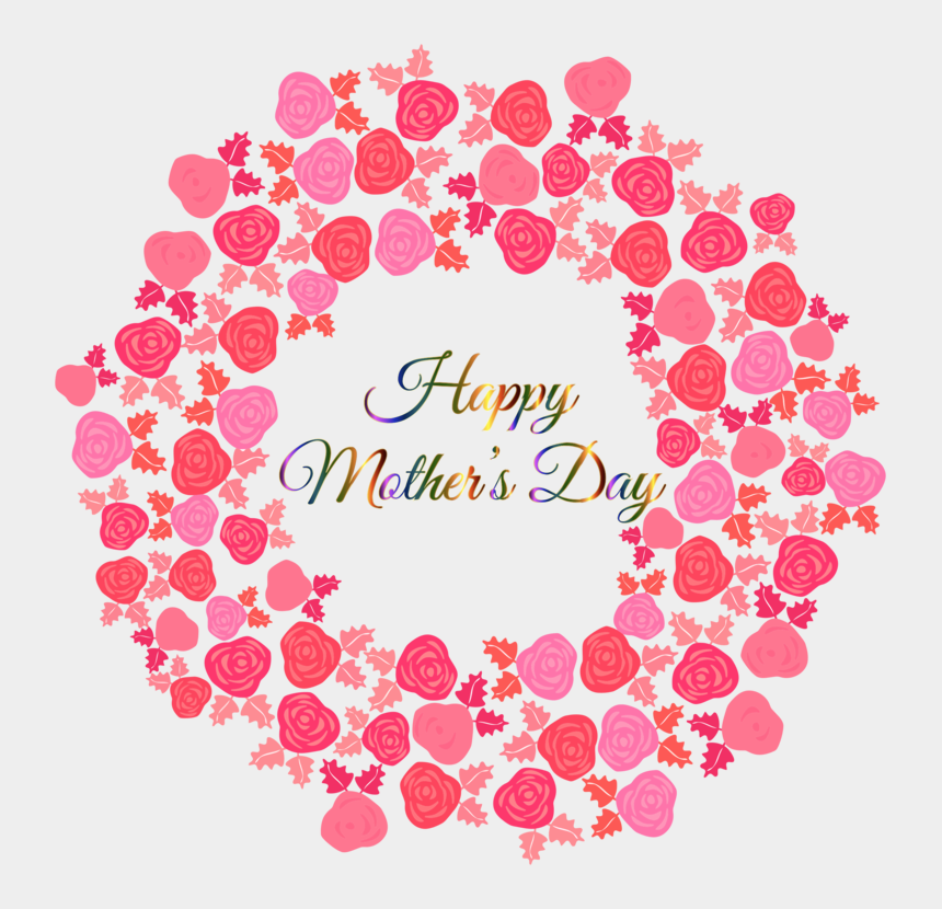mothers day flowers clipart, Cartoons - Mother's Day Flower Bouquet Drawing Father's Day - Round Heart Frame Png
