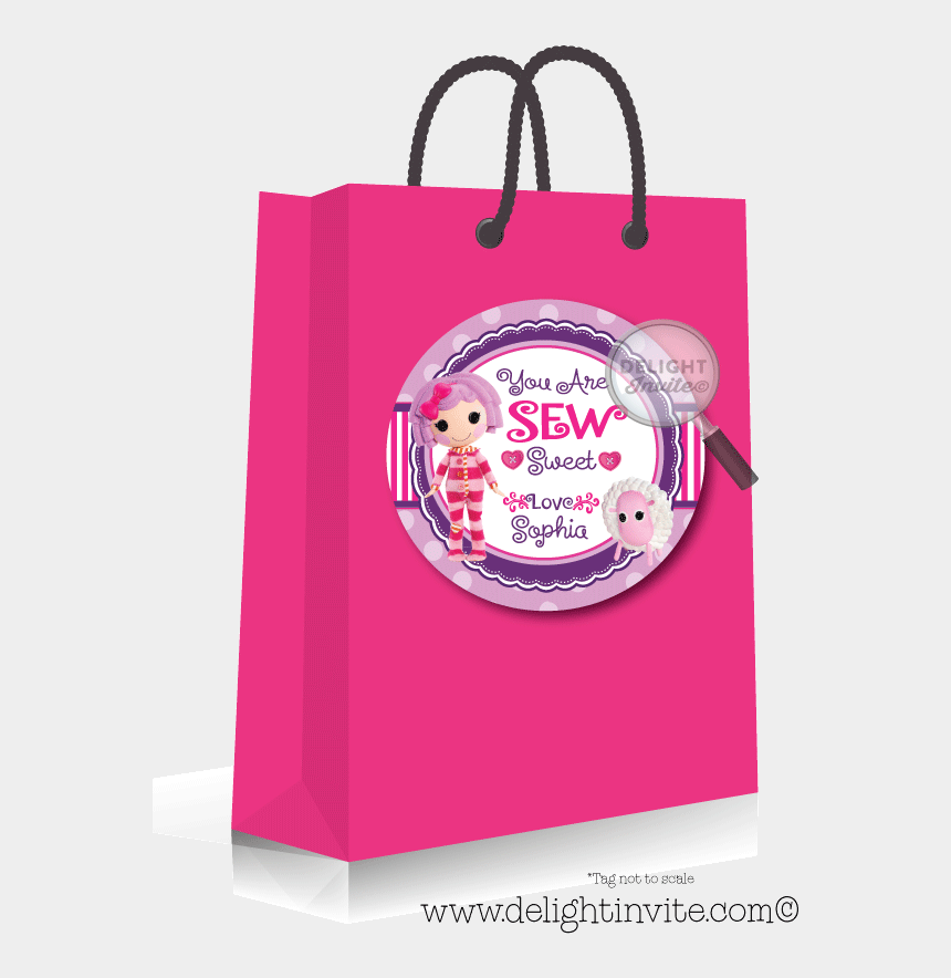 lalaloopsy clipart, Cartoons - Pillow Featherbed Lalaloopsy Sticker Tags [di-231st] - Mad Hatter Tea Party Paper Bags