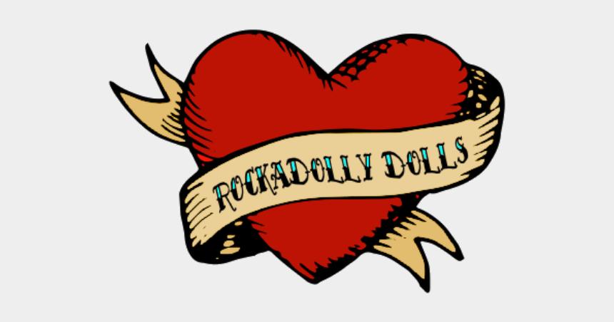 lalaloopsy clipart, Cartoons - Ragdoll Clipart Inspired - Classic Heart Tattoo Design