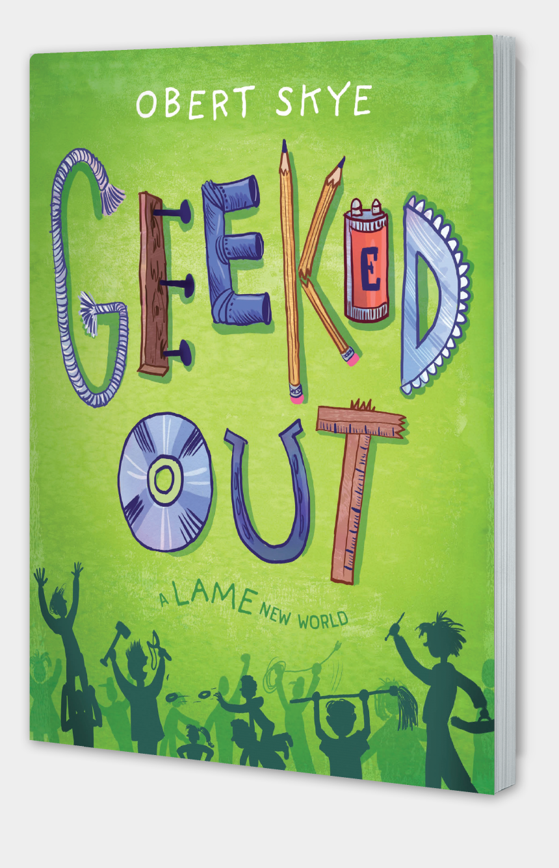 pb&j clipart, Cartoons - Geekd Out Pb - Geeked Out By Obert Skye
