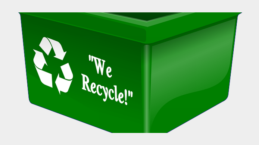garbage cans clipart, Cartoons - Recycle Waste Management Keep It Out Of The Garbage - Recycling Box