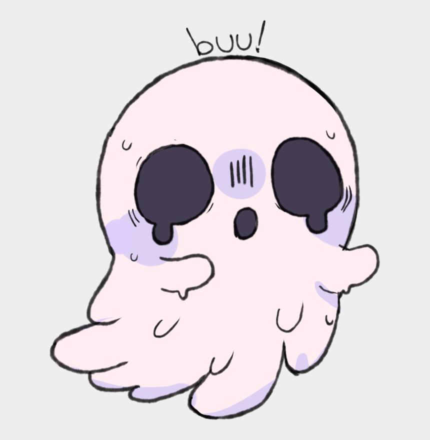 cute ghost clipart, Cartoons - Cute Ghost Wallpaper - Kawaii Ghost Transparent Background