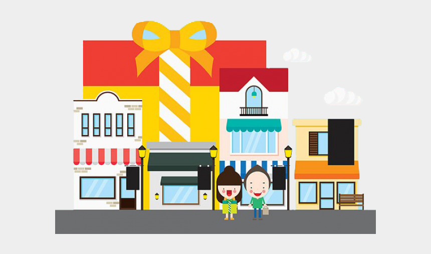 shopping mall clipart, Cartoons - Shopping Mall Cartoon Png