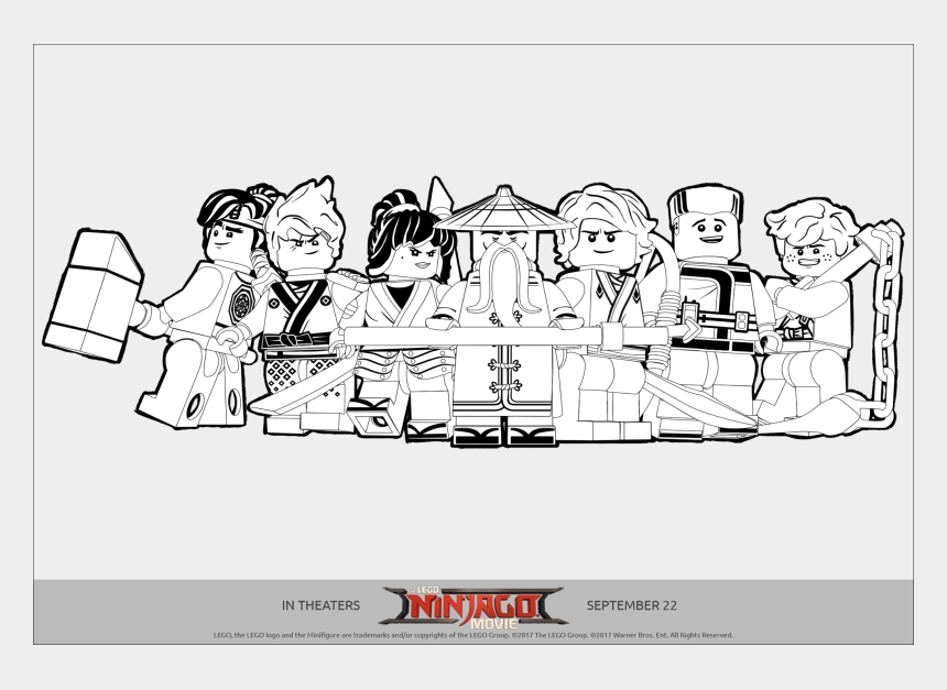 Lego Ninjago Printables, Coloring Pages And Activity - Coloring Pages  Ninjago Movie, Cliparts & Cartoons - Jing.fm