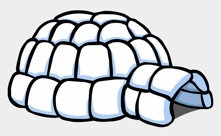 igloo clipart black and white, Cartoons - Igloo Clipart Pixel - Portable Network Graphics