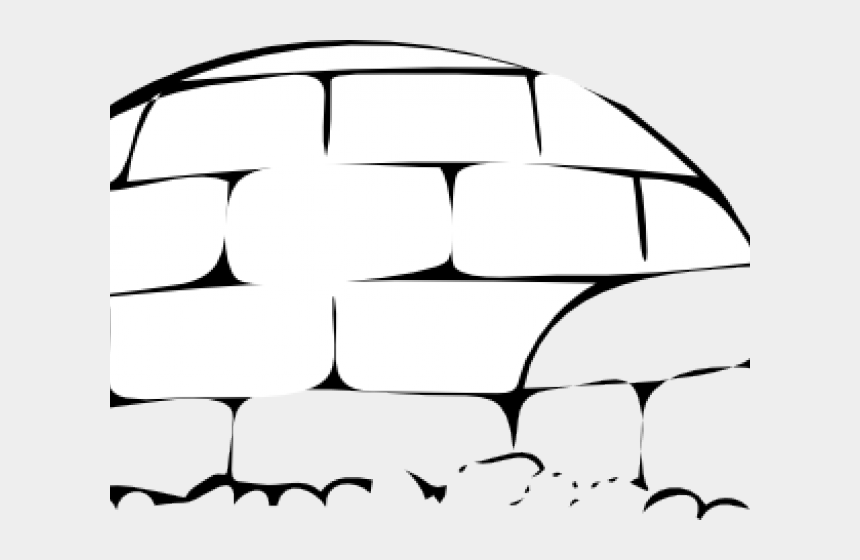 igloo clipart black and white, Cartoons - Native American Clipart Igloo - Public Domain Vector