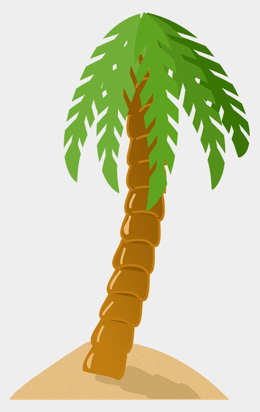 tropical island clipart, Cartoons - Island, Palm Tree, Exotic, Tropical, Island - Palm Tree Clip Art