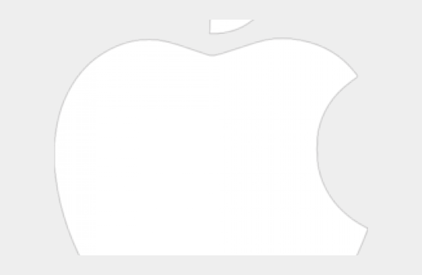 apple logo clipart, Cartoons - Clipart Apple Logo - Transparent Background Apple Logo White Png