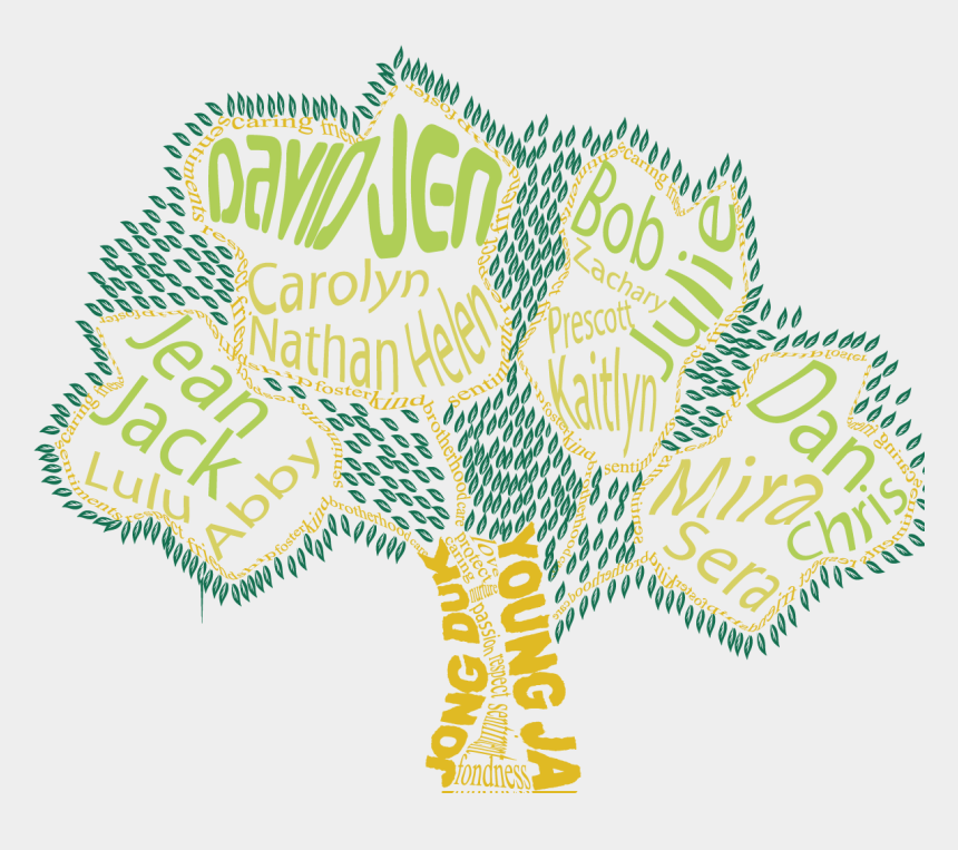free family reunion clipart, Cartoons - Family Tree Shirt Design