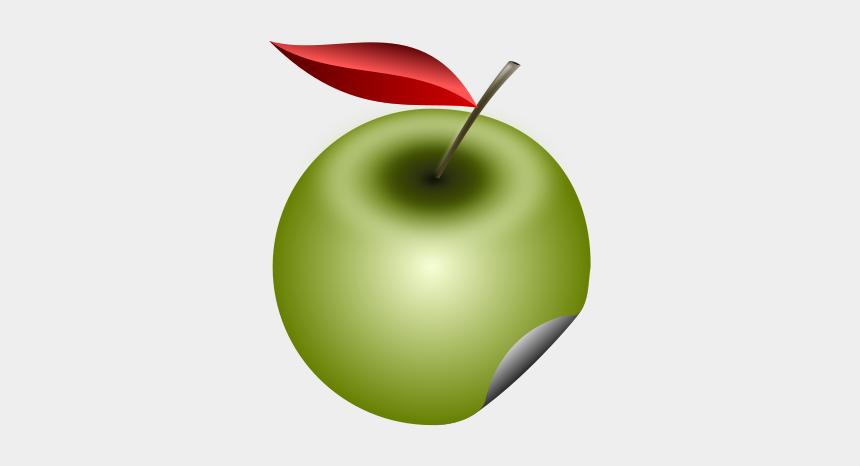 green apple clipart, Cartoons - Granny Smith