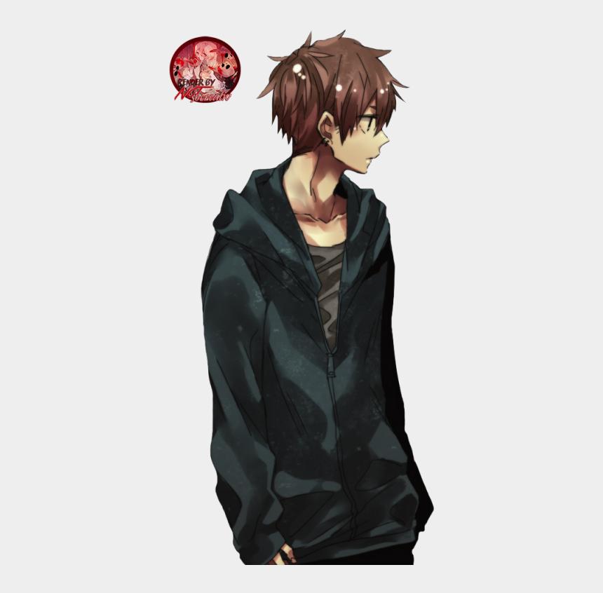 images clipart à télécharger gratuitement, Cartoons - Anime - Anime Boy Brown Hair