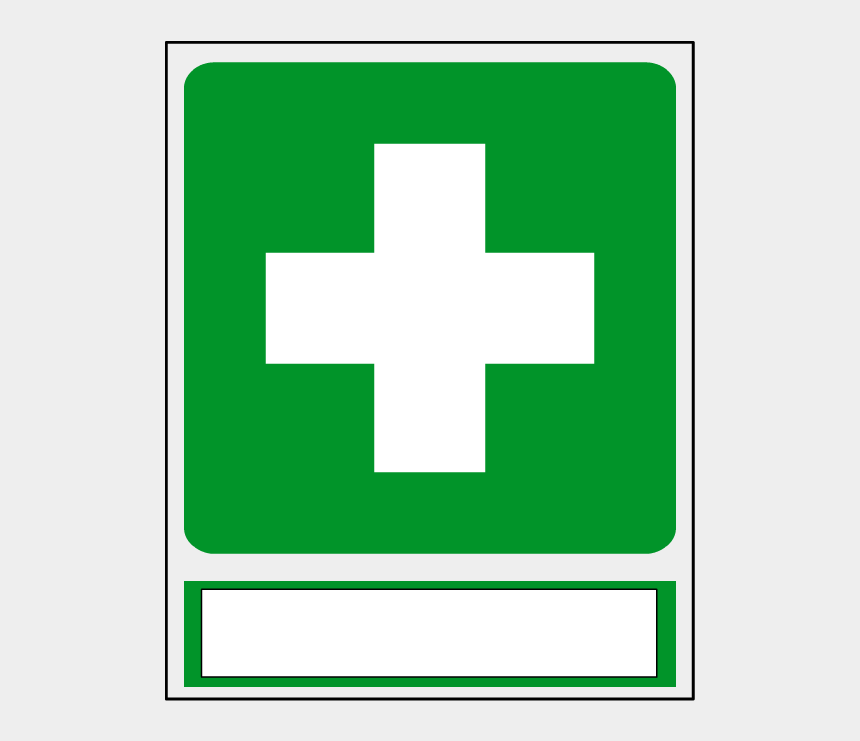 safety first clipart, Cartoons - First Aid Safety Signs - Vector Graphics