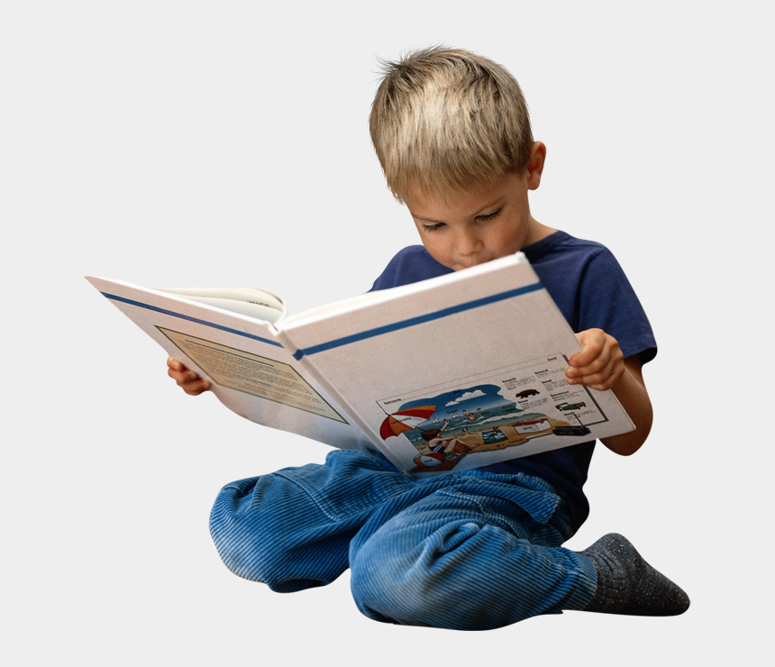 child studying clipart, Cartoons - Kid Png - Children Reading Png
