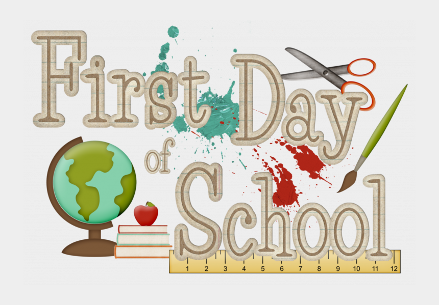 first day of school clipart, Cartoons - First Day Of School T0ao3x Clipart - 1st Day Of School 2018 2019