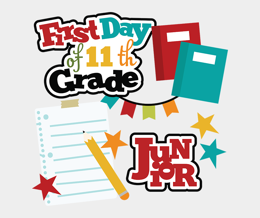 first day of school clipart, Cartoons - First Day Of 11th Grade Svg School Svg Files For Scrapbooking - First Day Of School 11th Grade