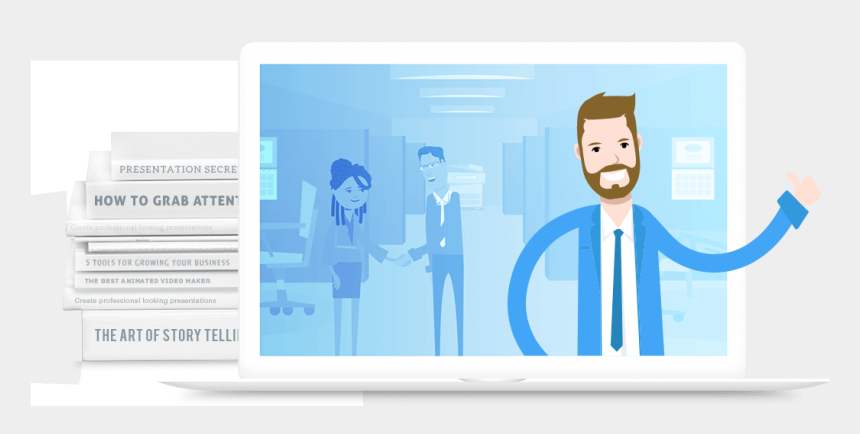 free download animated clipart for powerpoint presentation, Cartoons - Make Video Presentation