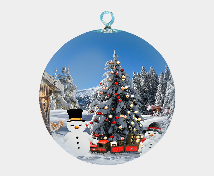 winter background clipart, Cartoons - Christmas Decoration Free Png Transparent Background - Most Beautiful Pictures For Christmas