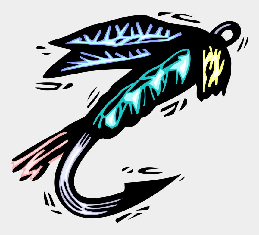 fishing lure clipart, Cartoons - Vector Illustration Of Sport Fisherman Angler's Fish - Graphic Design