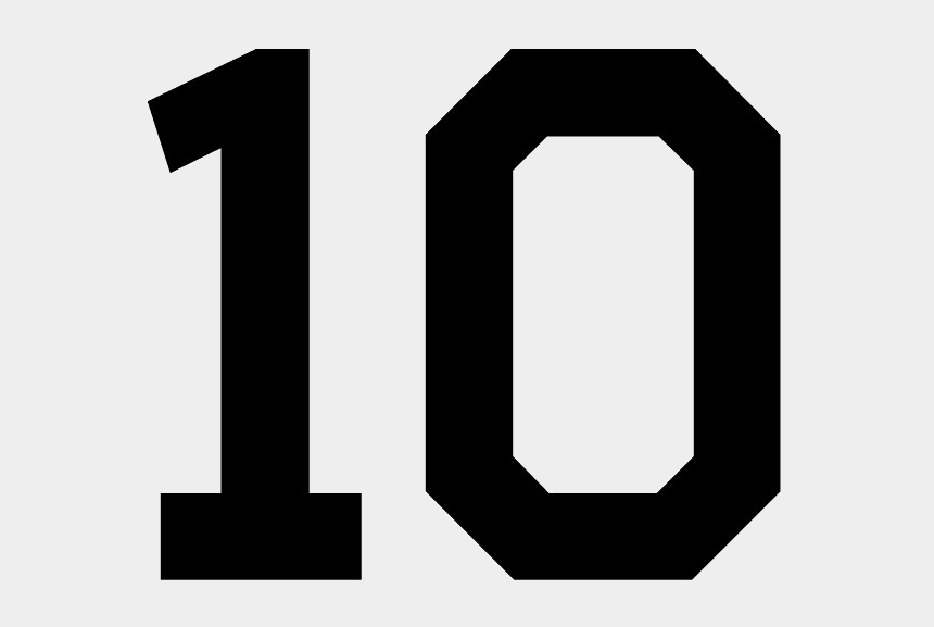 number 10 clipart, Cartoons - 10 Number