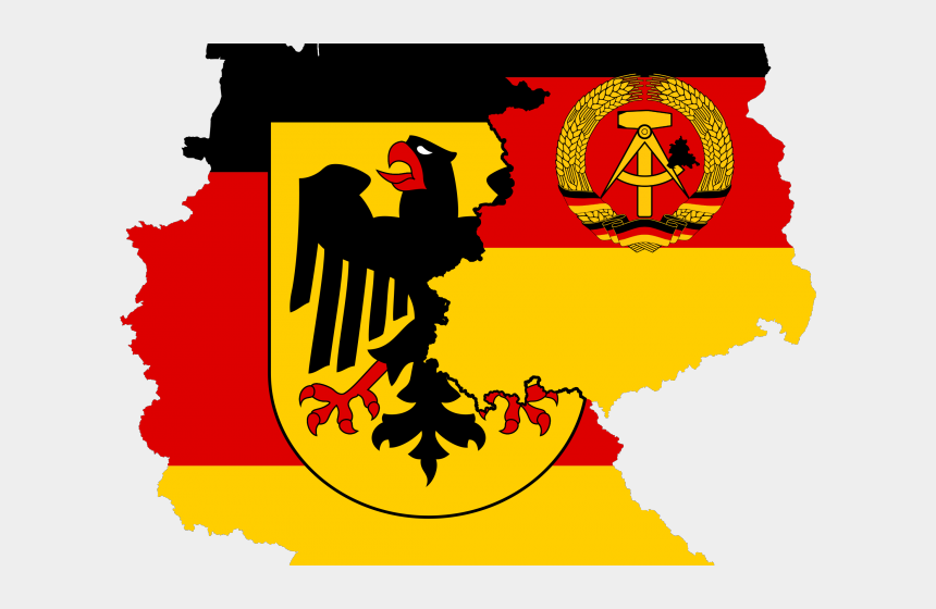 flag border clipart, Cartoons - Prussia Flag Clipart Border - East And West Germany Flag
