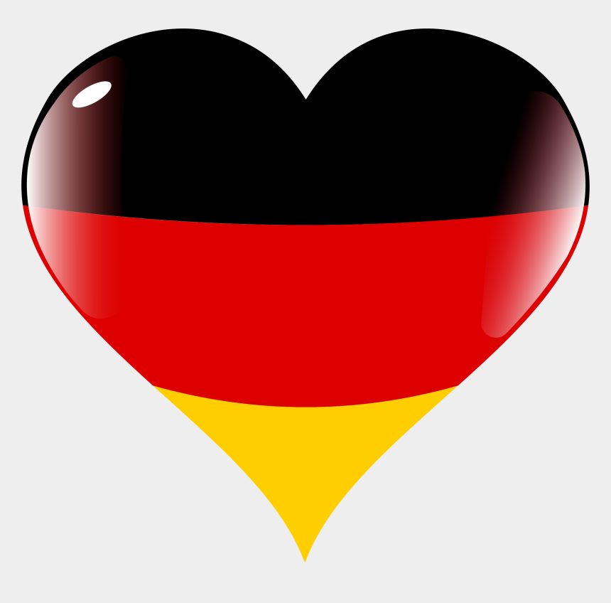 german flag clipart, Cartoons - Germany Clipart Big - Germany Heart