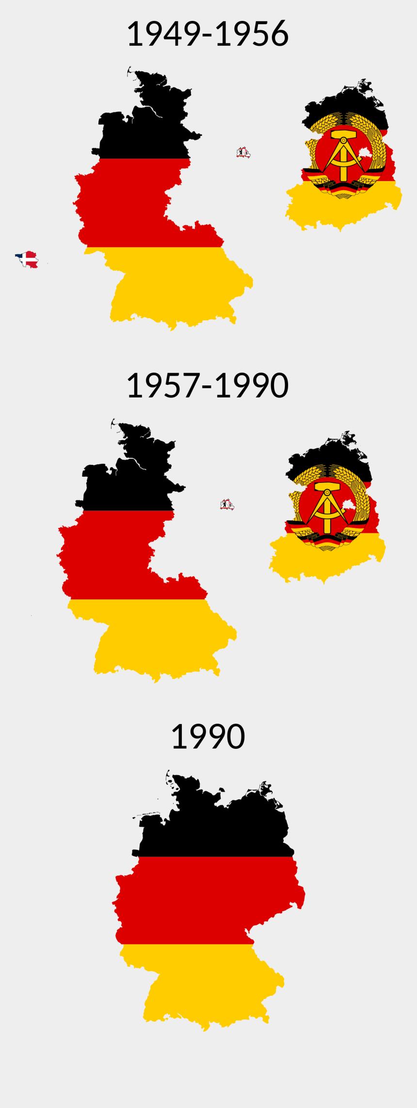 East Germany Flag Clipart Child - Dia De La Reunificación