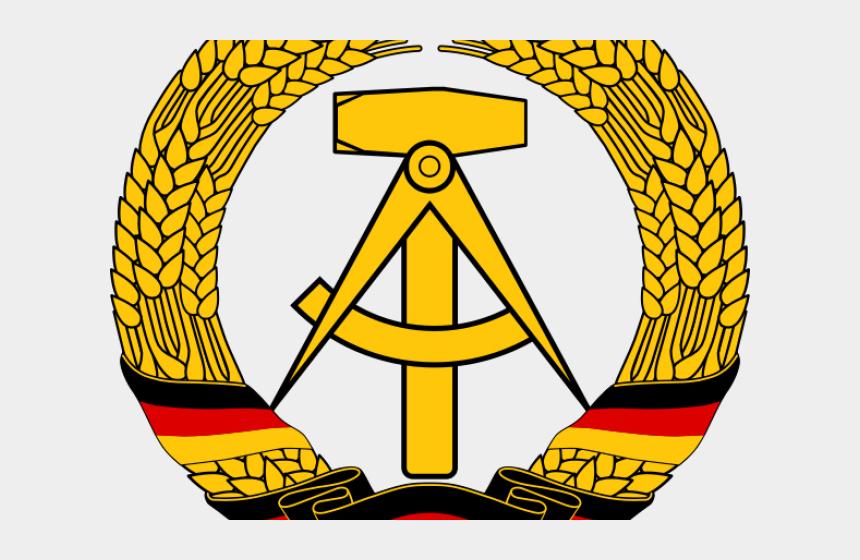 german flag clipart, Cartoons - East Germany Flag Clipart Tree - East Germany Symbol