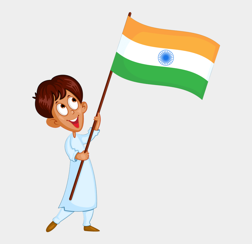 indian flag clipart, Cartoons - Republic Day 2019 Image Download