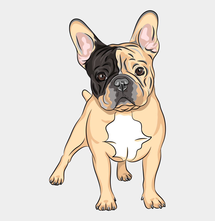 french bulldog clipart, Cartoons - Content Png Pinterest Album Soloveika Ⓒ - Drawing Of A French Bulldog