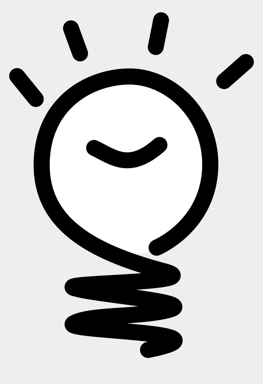 inkscape clipart, Cartoons - Graphics Svg Inkscape Adobe Illustrator Clip Art Clipart - Light Bulb Cartoon Black And White
