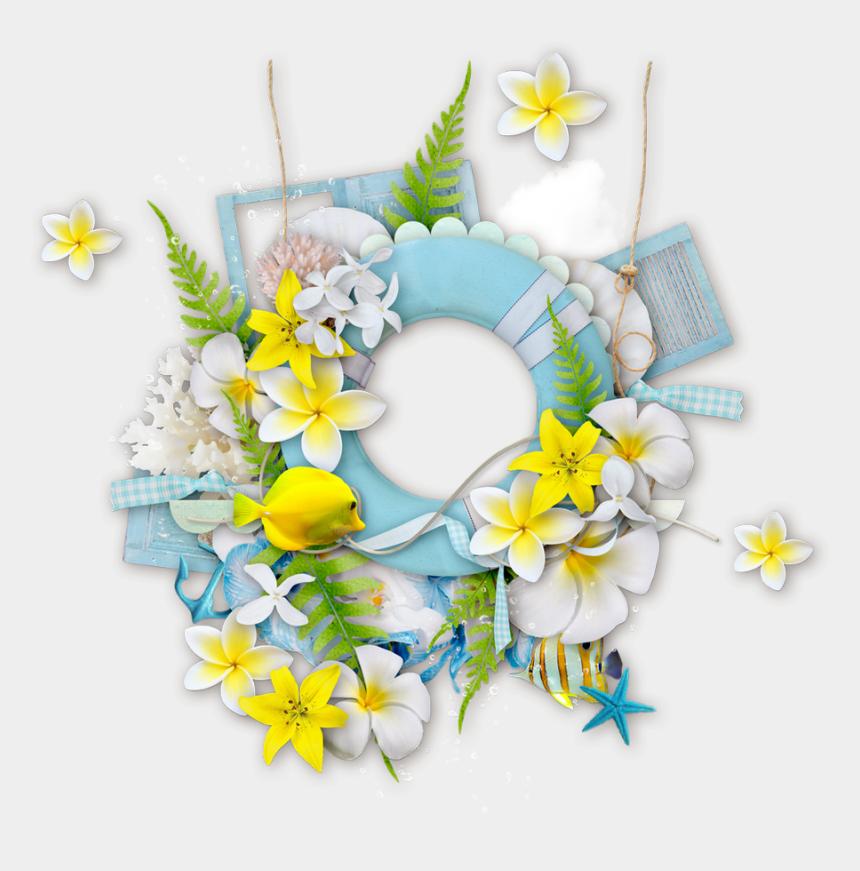 floral wreath clipart, Cartoons - Portable Wreath Frames Design Sea Graphics Floral Clipart - Flower