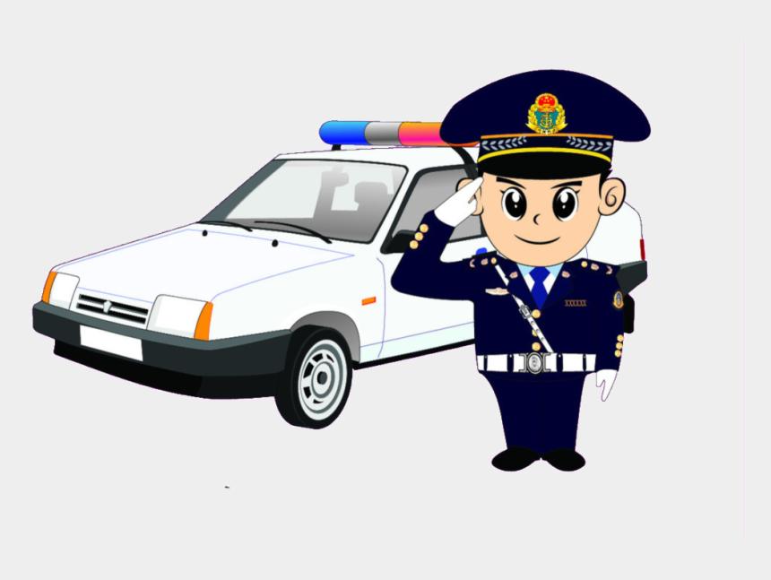 Cartoon Traffic Police Car Pattern Elements Police Car Png Cartoon Cliparts Cartoons Jing Fm