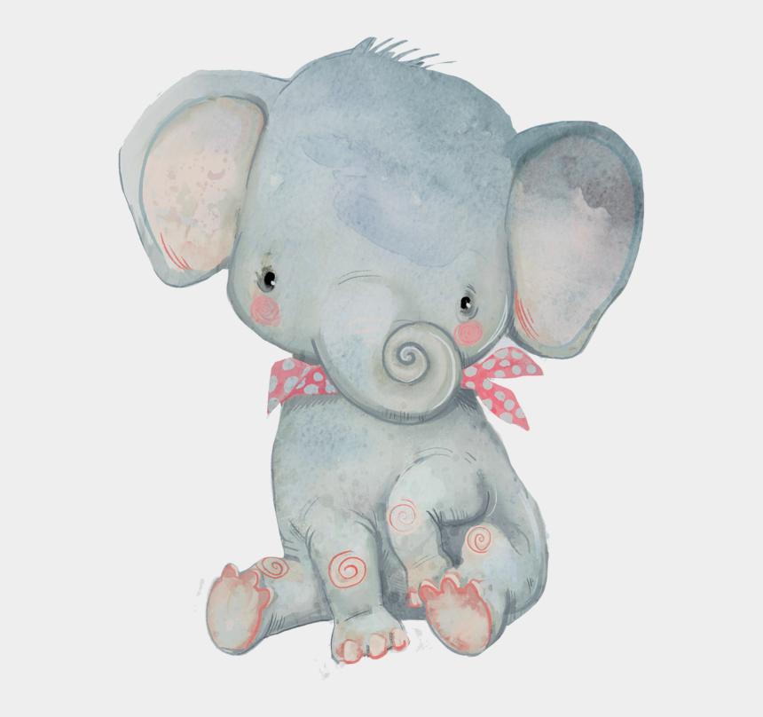 watercolor clipart, Cartoons - Image Du Blog Zezete2 - Poster De Elefantes