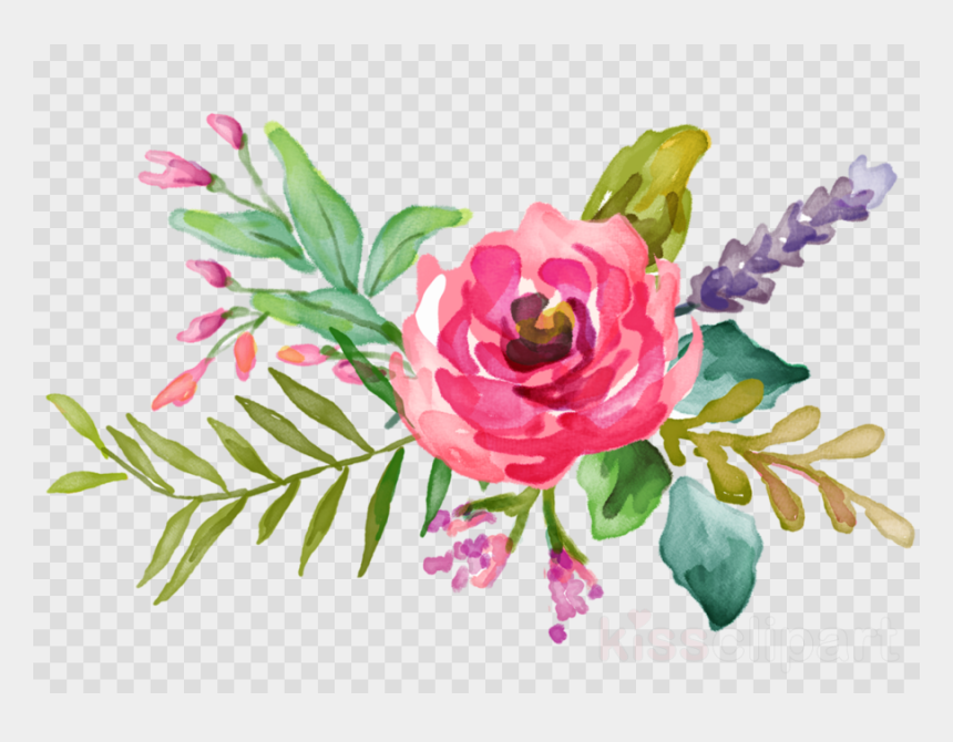 Water Flowers Png Clipart Watercolour Flowers Watercolor