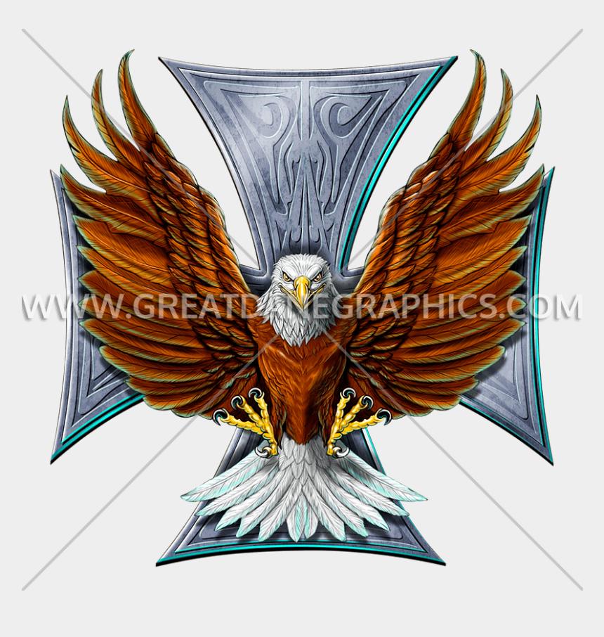 flying eagle clipart, Cartoons - Eagles Clipart Biker - Bald Eagle