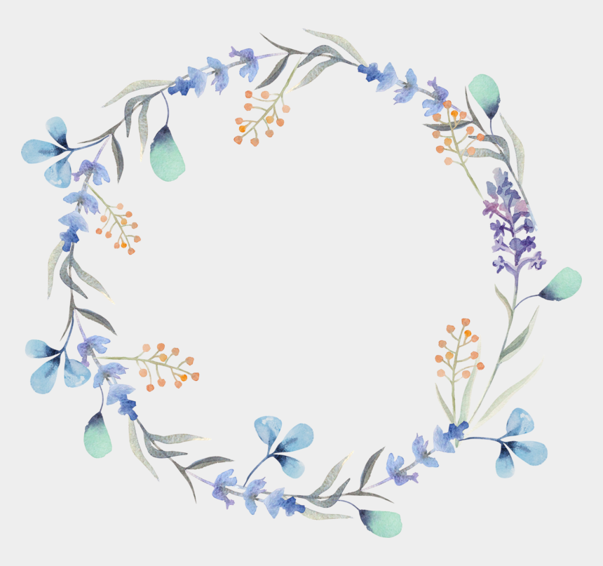 free watercolor clipart, Cartoons - Flower Photography Wreath Royalty-free Watercolor Garlands - Watercolor Wreath Flower Png