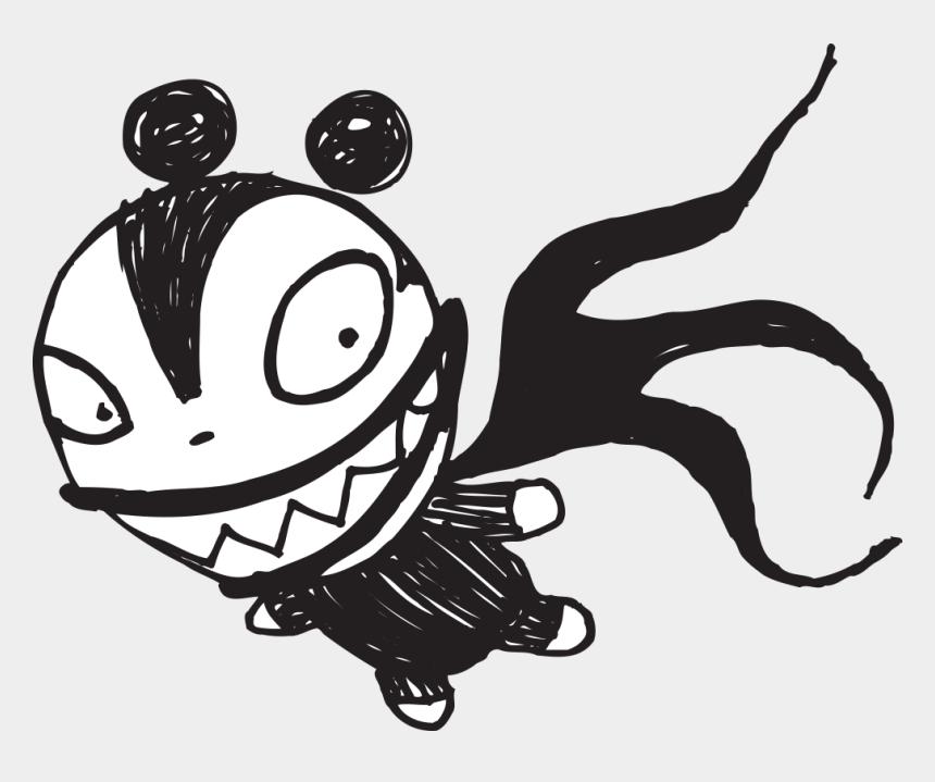 nightmare before christmas clipart, Cartoons - Black And White Nightmare Before Christmas Characters