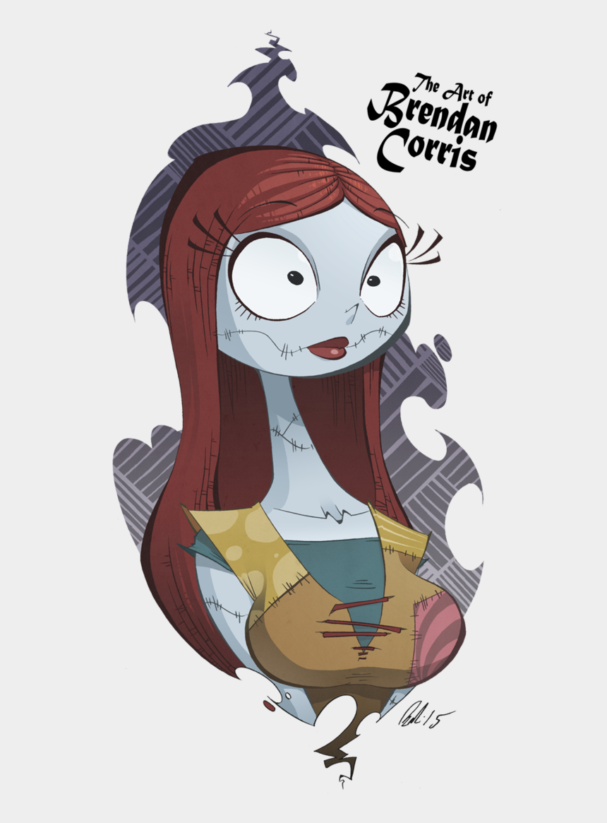 nightmare before christmas clipart, Cartoons - Sally The Rag Doll By Brendan Corris - Sally The Nightmare Before Christmas Drawing