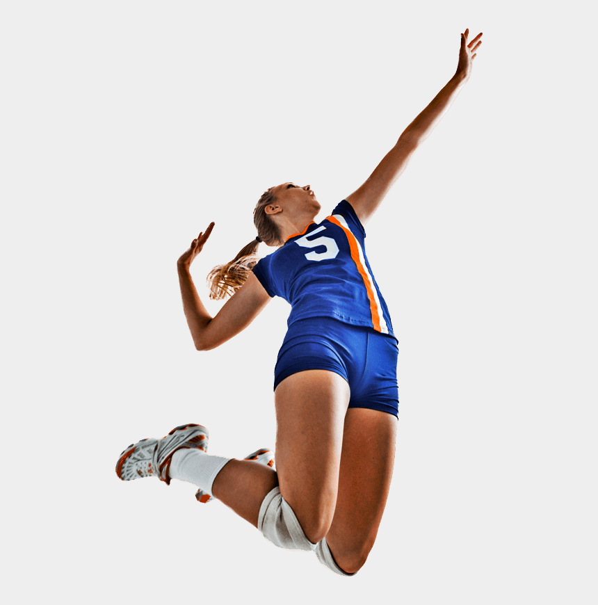 volleyball player clipart, Cartoons - Volleyball Player Png