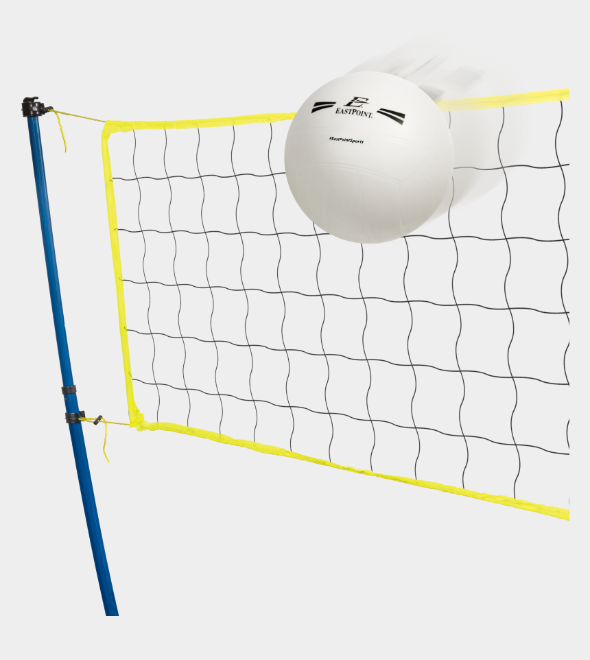 volleyball net clipart, Cartoons - Eastpoint Sports Easy Setup Portable Tripod Volleyball - Volleyball Net Transparent