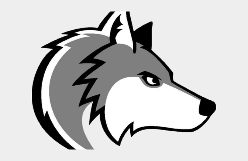 volleyball clipart black and white, Cartoons - Volleyball Clipart Wolf - Saint John Paul The Great Catholic High School